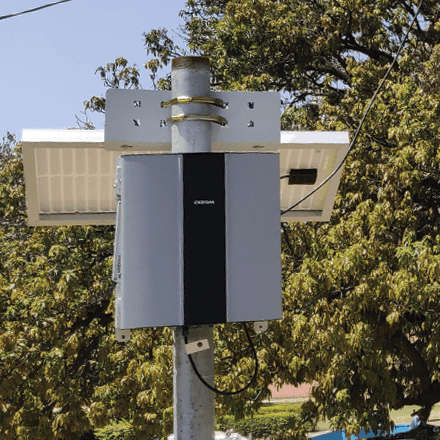 BHU campus monitors the environmental health of the campus using Oizom AQMS - Polludrone.