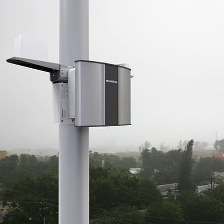 Oizom Weathercom is an automatic weather station to monitor weather parameters in real-time.