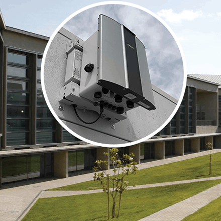 Granada University monitors campus pollution using Outdoor Air Quality Monitor to provide a better environment.