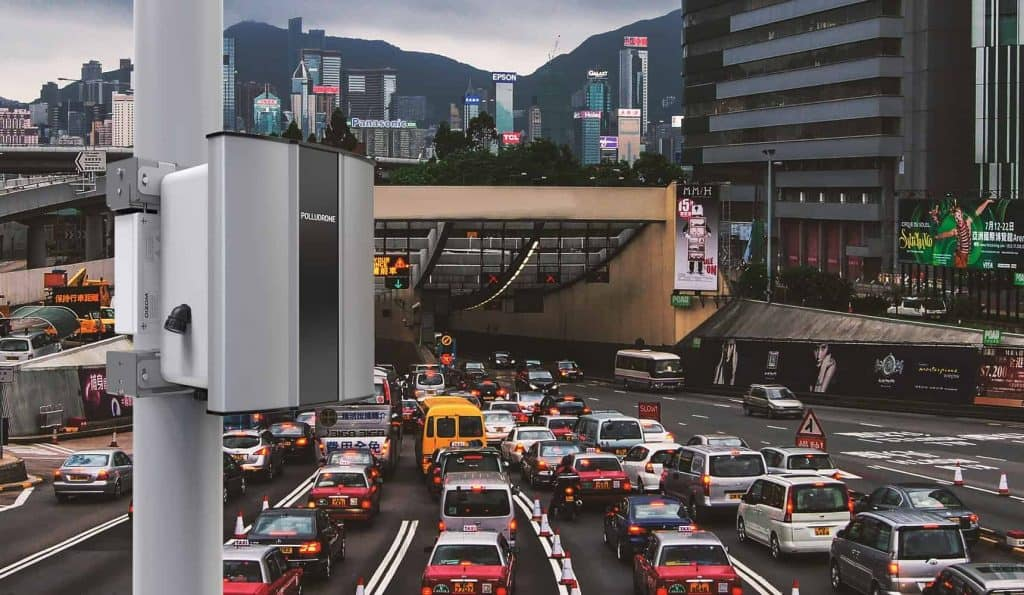 Oizom Air Pollution Monitoring System can monitor traffic pollution inside tunnels to help reduce vehicle emission.