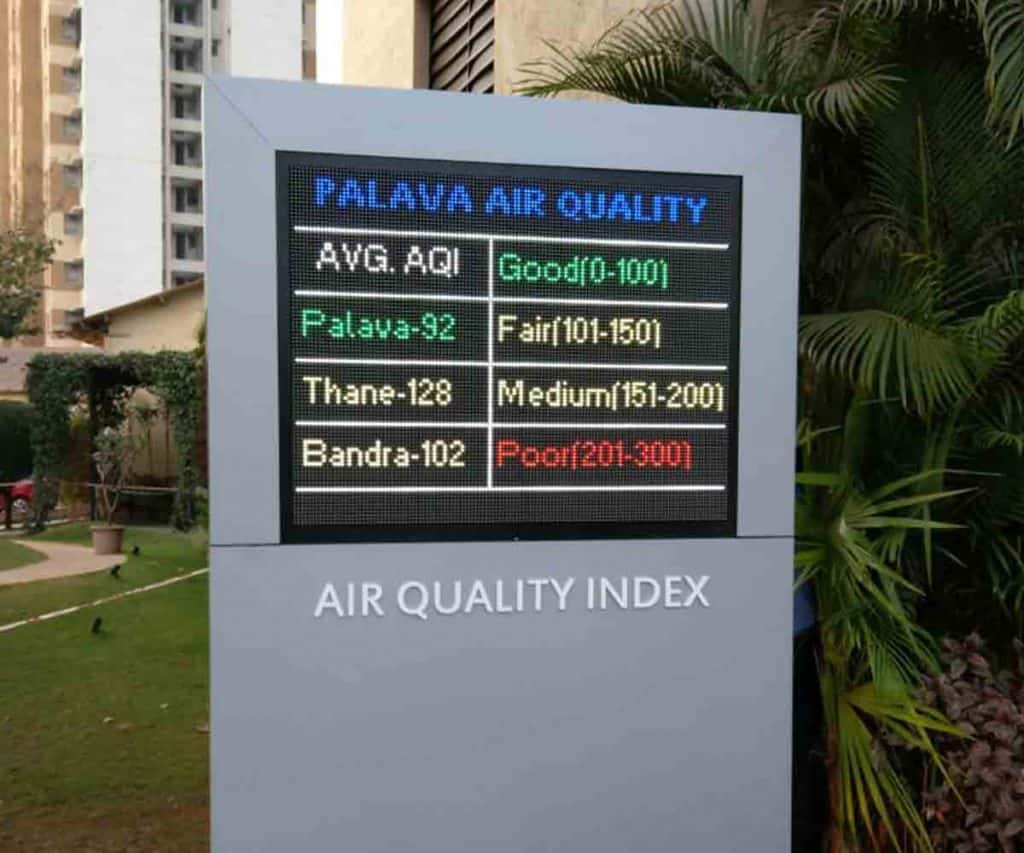 Air quality monitors help in creating public awareness towards environmental monitoring.