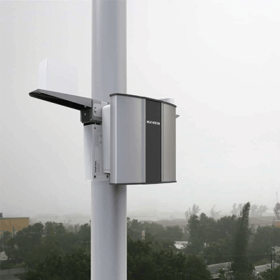 automatic weather station for online weather data