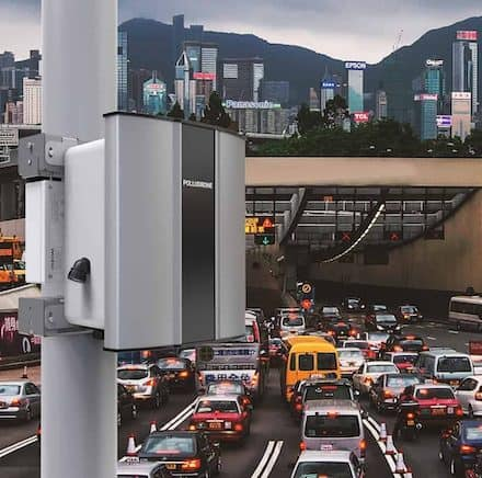 Roadside pollution monitoring, selection of location