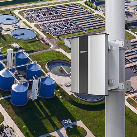 Odosense e nose-based Odor Monitoring System monitors the odor emission from the STP or WWTP tanks to provide odour suppression solutions.