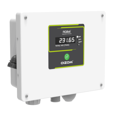 AQBot is an industrial air quality monitor with automation capabilities. AQBot Series offers a wide range of air quality parameters to choose from.