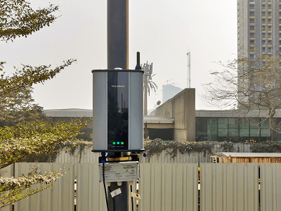 Oizom installed Polludrone for Air Monitoring System to mitigate Palava City pollution.