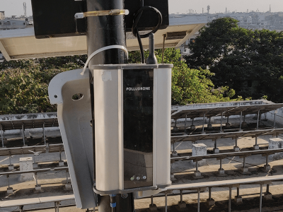 Oizom installed Polludrone Environmental Quality Monitoring system to monitor the city's environmental condition.