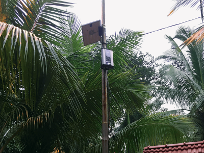 Oizom Odosense monitors all the harmful gases coming from Kanjurmarg dumpyard waste using Odor Monitoring Solution.