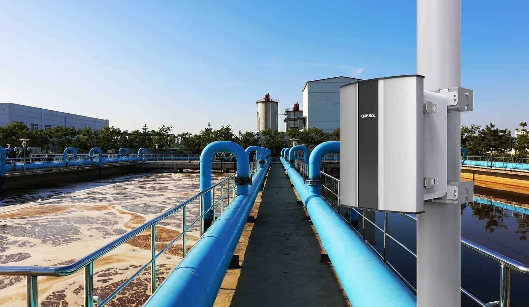 Odosense e nose-based Odour Monitoring System monitors the gaseous emission from ETP plants to improve the treatment process.