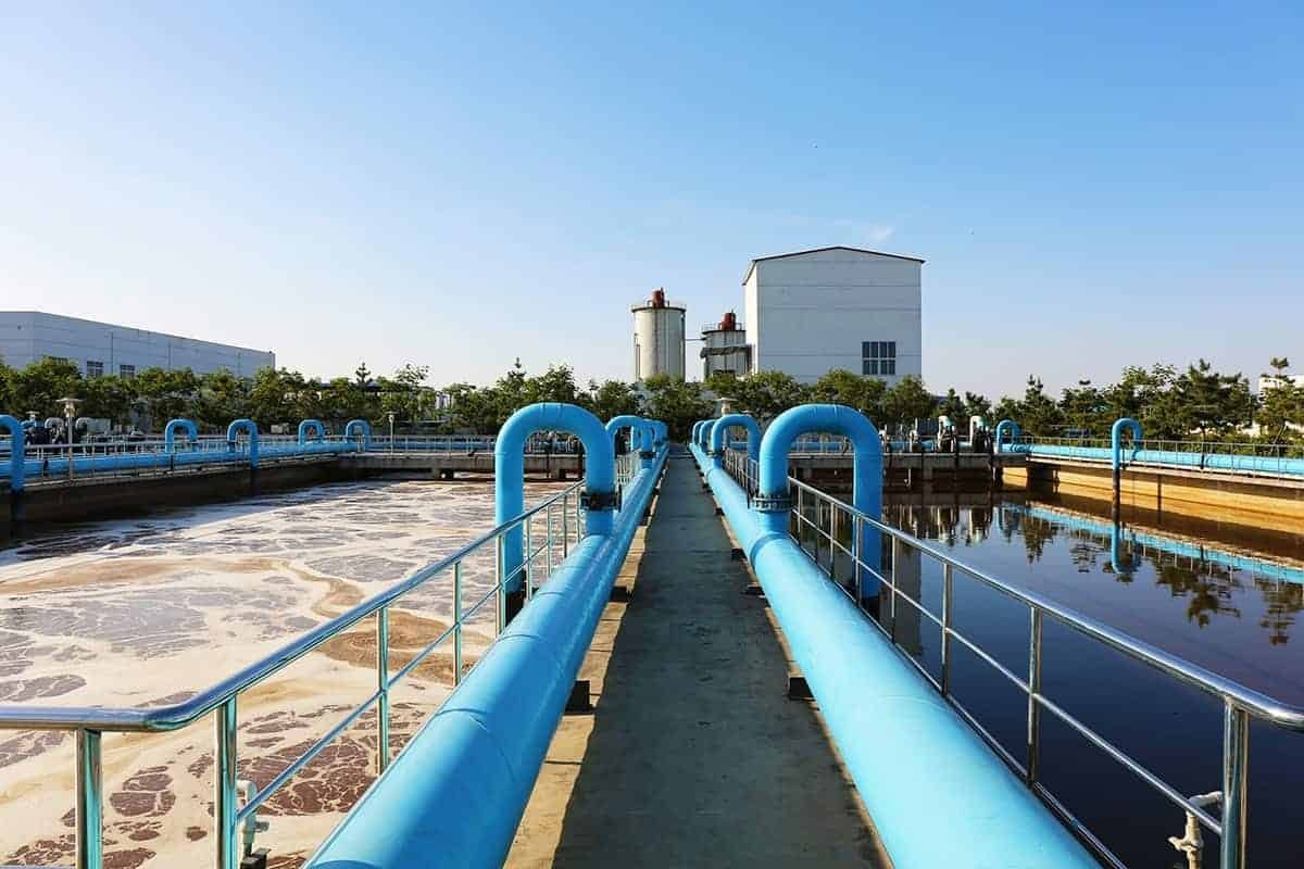 Wastewater treatment plants produce harmful gaseous emission and can be controlled by monitoring using an Electronic Nose.