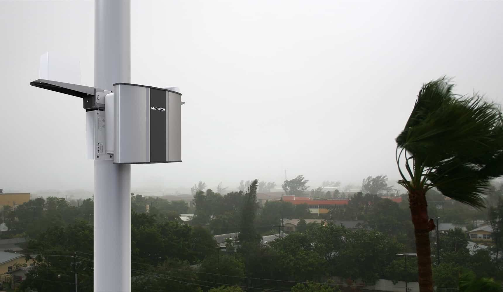 Oizom Automatic Weather Station provides real-time weather data to detect any oncoming natural disaster and reduce the loss.